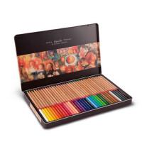 马可雷诺阿3100油性彩色铅笔36 48 72色填色彩铅 铁盒装彩笔