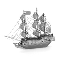 全金属不锈钢 DIY拼装模型 纳米立体拼图 加勒比海盗 黑珍珠号