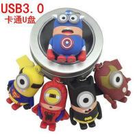 USB3.0高速 多款图 动漫卡通 U盘8g 16g 32GB 英雄联盟 可爱个性创意礼品优盘 刻字