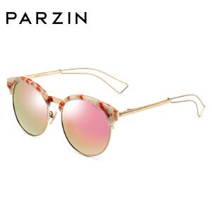 帕森偏光太阳眼镜女 手造板材大框复古炫彩膜潮墨镜 9660