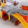 儿童军城市消防飞机场模型汽车拼装停车场玩具轨道车