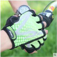 男士户外休闲运动半指手套夏天骑行/骑车/健身舒适薄手套