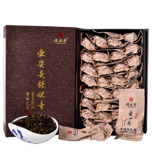 新茶 祺彤香 铁观音 壶安美1号炭焙浓香型茶叶安溪铁观音乌龙茶500g