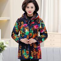 中老年人女装冬装棉衣加绒加厚棉袄50岁60奶奶大码妈妈装外套