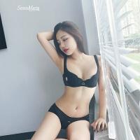 性感小胸内衣女1/2半杯文胸套装薄款舒适聚拢胸罩bra