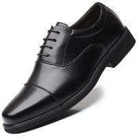 波图蕾斯皮鞋男鞋爆款英伦男士系带休闲皮鞋07式三接头商务正装鞋士官鞋军鞋