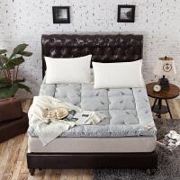 羊毛床垫软垫加厚保暖 羊毛床垫冬季垫被垫背铺床褥1.8m加厚保暖冬天褥子1学生宿舍1.2米