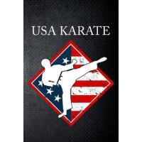 【预订】USA Karate: Martial Art Fan 6x9' Journal / Notebook 100