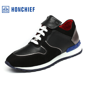 HONCHIEF 红蜻蜓旗下 秋冬新款休闲运动鞋男士运动鞋潮流时尚潮流