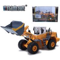 凯迪威铲车模型合金装载机儿童玩具车仿真模型玩具工程车声光版