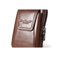 穿皮带男士皮手机腰包 4.7-5.5-6寸皮套迷你包韩版世帆家SN7128