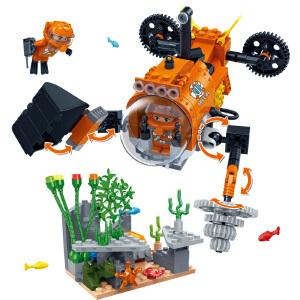 【当当自营】【当当自营】邦宝益智拼装积木玩具塑料241小颗粒拼插5岁男孩玩具礼物 秘境探宝7407