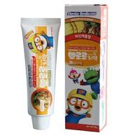韩国正品 宝露露 小企鹅宝露露 牙膏 儿童牙膏 清洁用品(菠萝味)90g