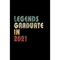 【预订】Legends graduate in 2021: Vintage Composition Notebook F