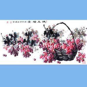 中国青年美术家协会常务理事,中国山水画院专业画家,山东省美术家协会会员,国家一级美术师高云鹏(珠玉满堂)11