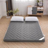 君别加厚床垫榻榻米海绵软垫可折叠懒人床褥子家用防潮打地铺睡垫神器