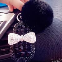 ?汽车钥匙包装饰用品钥匙扣套水晶钻零钱钱包挂件女式专用?