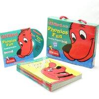 英文原版 大红狗语音趣味套装#1(含CD) Cliffords Phonics Fun Box Set 自然拼读法