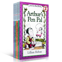 I Can Read Arthur系列 Lillian Hoban作品 8本汪培�E推荐第四阶段亲子英文原版启蒙儿童读物Arthurs Back to school day