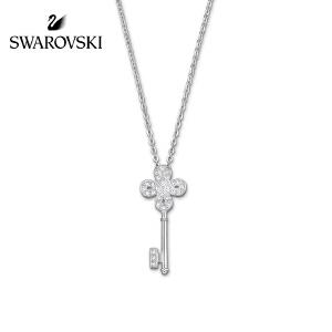 SWAROVSKI/施华洛世奇 镀白金钥匙水晶般质感项链 5007808