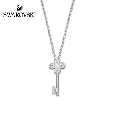 SWAROVSKI/施华洛世奇 镀白金钥匙水晶般质感项链 5007808正品保障(可使用礼品卡)