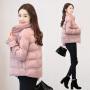 2018新款外套女冬季短款加厚棉袄韩版反季羽绒棉服女装面包服棉衣