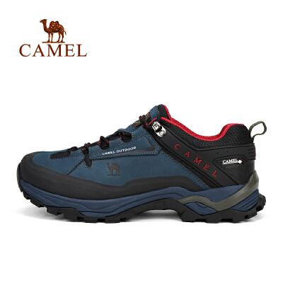 camel骆驼户外徒步鞋 防滑透气舒适男士徒步鞋