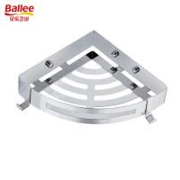 贝乐卫浴(Ballee)TL702 免打孔置物架304不锈钢浴室三角架
