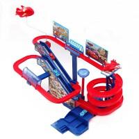 汽车大楼停车场多层升降轨道赛车电动3-4-5岁儿童男女孩礼物玩具