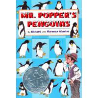 Mr.Popper's Penguins 波普先生的企鹅英语英文原版绘本(1939年 纽伯瑞银奖)ISBN 97803