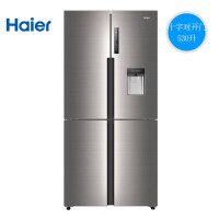 Haier海尔 BCD-530WDEAU1 变频风冷时尚水吧家用智能四门电冰箱