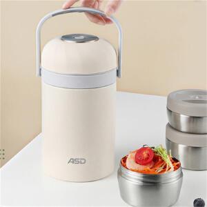特百惠轻盈茶韵水杯380ml塑料带茶隔时尚随手心杯子茶杯 活力橙