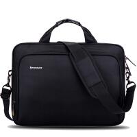 苹果联想电脑包14寸15.6寸笔记本手提单肩商务男女士大容量公文包