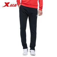特步男运动裤正品冬季新款正品轻便舒适潮流运动裤男子针织长裤子983429631255
