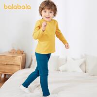 【3件4折:47.6】巴拉巴拉�和�保暖�纫绿籽b冬季男女童秋衣秋�幼童�����棉洋�獬�