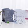 伸缩书立架书夹 学生用简易收纳放书架 创意高中生桌上折叠书挡铁