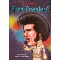 Who Was Elvis Presley?猫王埃尔维斯-普雷斯利ISBN9780448446424