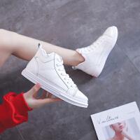 犸凯奴新款潮流超纤小白鞋简约时尚透气女运动鞋运动鞋女