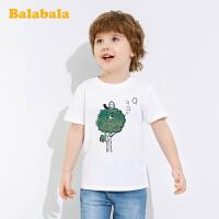 【1件7折价:41.93】巴拉巴拉童装宝宝T恤男童短袖T恤潮童上衣儿童夏装洋气变色圆领男