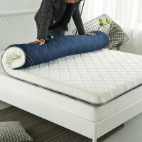 针织床垫褥子宿舍学生0.9*2米加厚海绵床垫双人家用垫被子