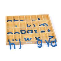 早教玩具蒙特梭利语文3岁以上活动字母木头字母宝宝玩具