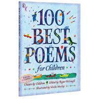 给孩子的100首诗 英语原版 100 Best Poems for Children当代经典诗歌集