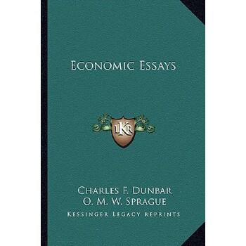 【预订】Economic Essays 9781163292372 美国库房发货,通常付款后3-5周到货!