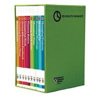 HBR 20-Minute Manager Boxed Set (10 Books) (HBR 20-Minute Manager Series) 哈佛商业评论20分钟经理人套装