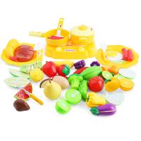 【当当自营】贝恩施儿童切水果蔬菜切切乐玩具男女孩过家家厨房玩具套装WYD-605