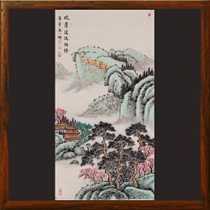 《风景这边独好》精品国画,纯手绘带作者防伪钢印【真迹R804】