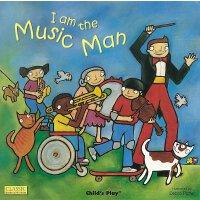 【现货】英文原版 儿歌洞洞书:我是一个音乐家(纸板书) Music Man1-3岁适读 廖彩杏书单 978190455