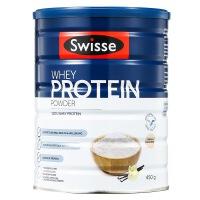Swisse斯�S�乳清蛋白�{制乳粉450g�I�B代餐成人蛋白粉改善�w�|成人蛋白粉