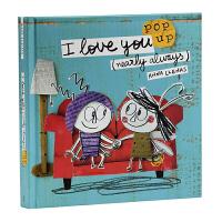 【中商原版 附音频】我爱你立体玩具书 英文原版I Love You (Nearly Always) 情绪小怪兽作者新书