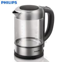飞利浦(PHILIPS) 电热水壶 HD9342 家用 透明玻璃壶身 不锈钢加热元件